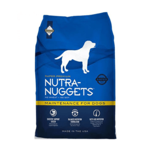 """מזון לכלבים נוטרה נאגטס בוגר מיינטננס 15 ק""""ג-0"""